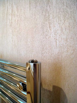 Travertine Cloakroom