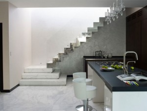 Velouria marble staircase