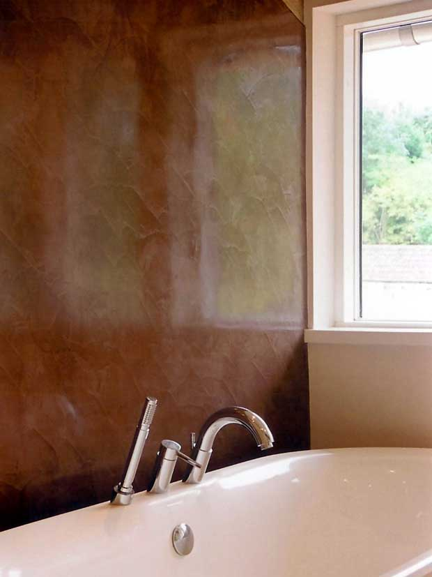 Bathroom for Venetian plaster bathroom ideas
